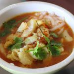 Spicy Fish Soup with Turmeric and Lemongrass (and deep-frying for skinny people)