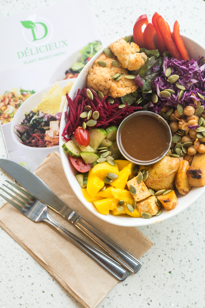 Delicieux Veg fusion cafe montreal vegan gluten free