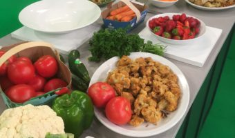 deals on local produce for global montreal - recipes - cauliflower BBQ wings