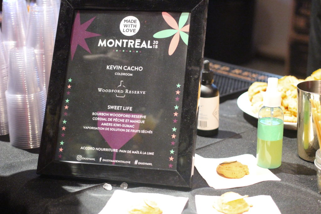 kevin cacho made with love cocktail competition montreal
