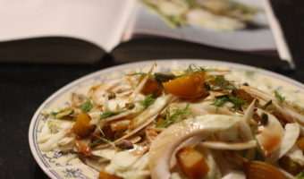 Fennel and Beet salad with Verjus
